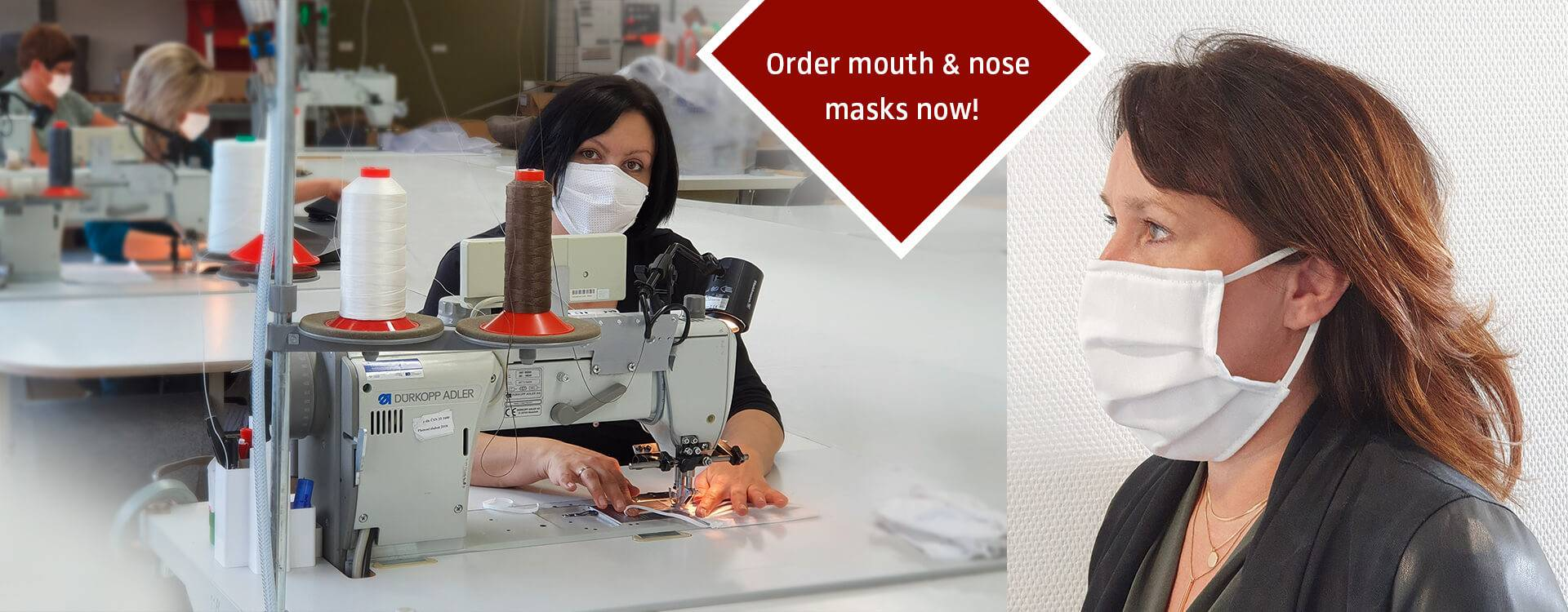 Order mouth & nose masks now!