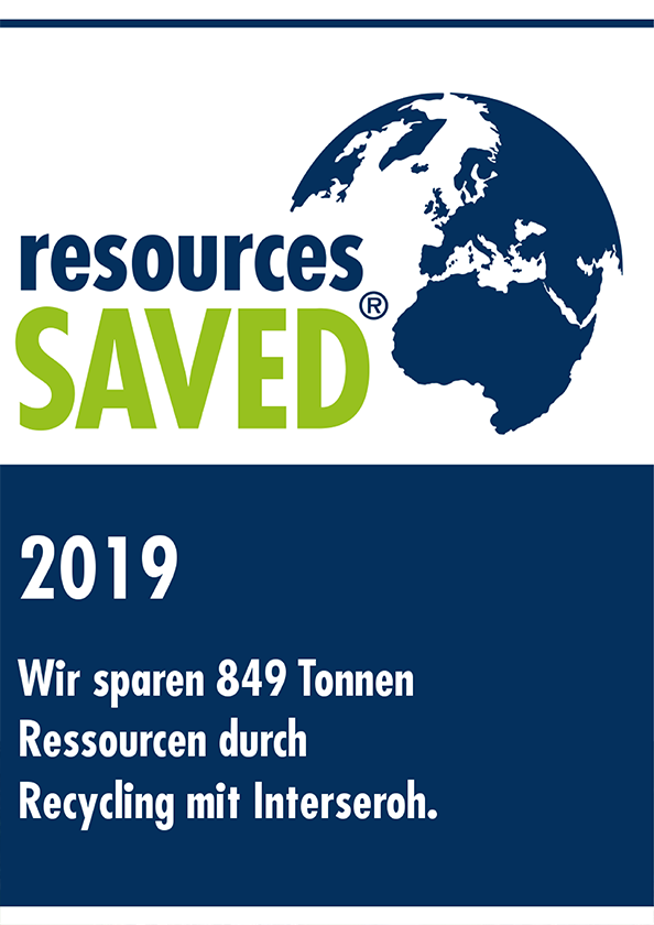 Interseroh – »resources SAVED« – Ressourcenschonung durch Recycling