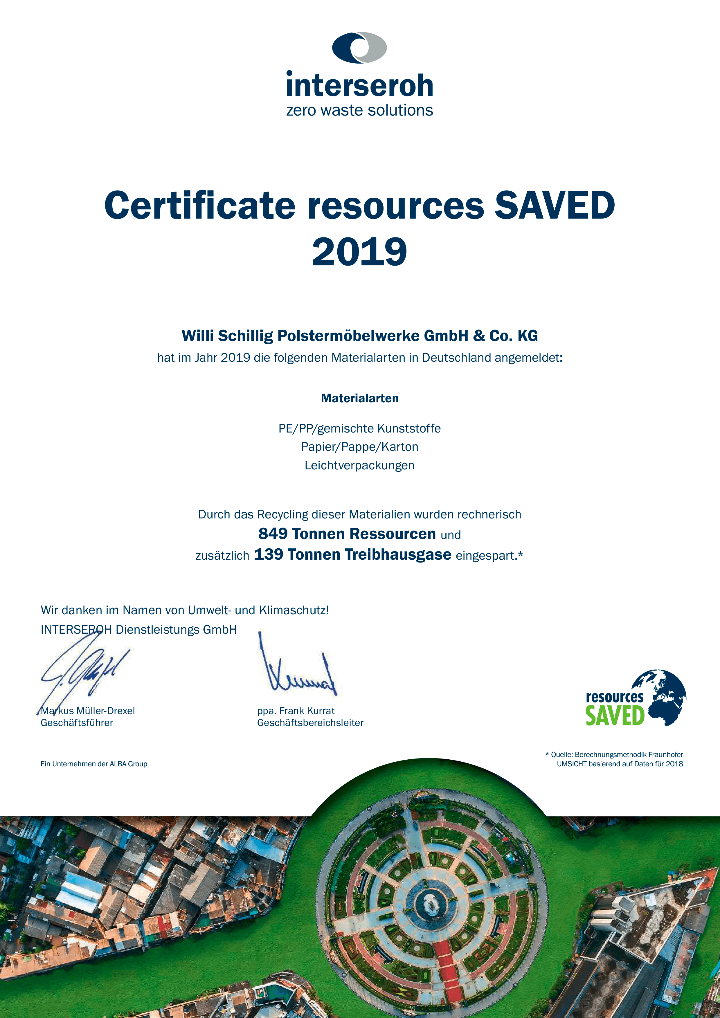 »resources SAVED« – Ressourcenschonung durch Recycling