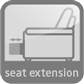 seat extension | 24405