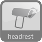 headrest | plug-in parts |16540